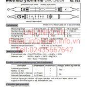 Gastec No.192 Methacrylonitrile CH2C(CH3)CN