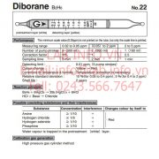 Gastec 22 Diborane B2H6