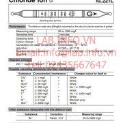 Gastec No.221L Chloride Ion Cl