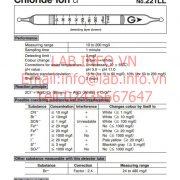 Gastec No.221LL Chloride Ion Cl