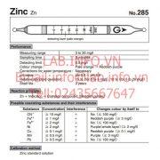 Gastec No.285 Zinc Zn