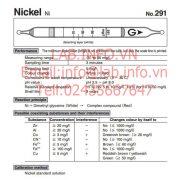 Gastec No.291 Nickel Ni