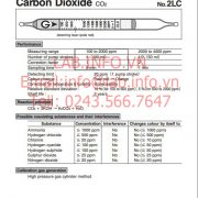 1712-Gastec-2LC-Carbon Dioxide-CO2