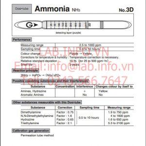 phát hiện nhanh hơi khí độc ammonia NH3 3D