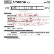 phát hiện nhanh hơi khí độc ammonia NH3 3S