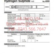 1712-Gastec-4HH-Hydrogen Sulphide-H2S