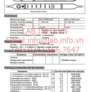 Gastec 51H Fluorochlorocarbons