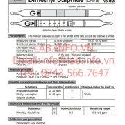 Gastec 53 Dimethyl Sulphide-CH3SCH3