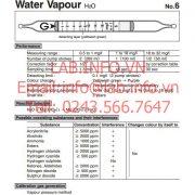 Ống phát hiện khí nhanh-6-Water Vapour-H2O