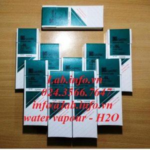 Ống phát hiện nhanh hơi nước Water vapour H2O Gastec