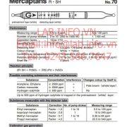 Gastec No.70 Mercaptans RSH