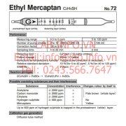 Gastec No.72 Ethyl Mercaptan-C2H5SH