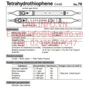 Ống phát hiện khí độc Tetrahydrothiophene