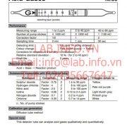 Gastec No.80 acid Gases