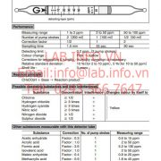 Gastec No.81 Acetic Acid CH3CO2H