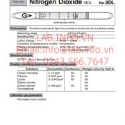 Ống phát hiện khí nhanh Nitrogen Dioxide-NO2 No.9DL