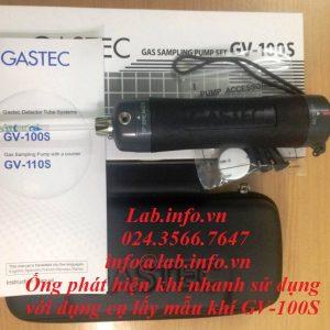 Ống phát hiện khí nhanh sử dụng cùng dụng cụ lấy mẫu khí GV-100S