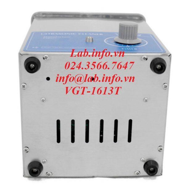 Bể rửa siêu âm VGT-1613T 1,3 lít 50W của GTSONIC