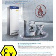 Tủ lạnh chống cháy nổ Haier biomedical