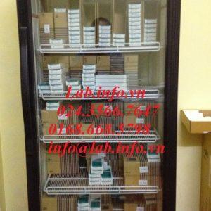 Tủ lạnh bảo quản mẫu 360 lít Haier Biomedical, hình anh thực của tủ khi sử dụng