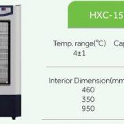 Tủ lạnh bảo quản máu haier HXC-158