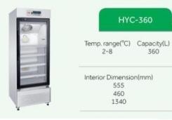 tủ lạnh bảo quản máu 360 lít