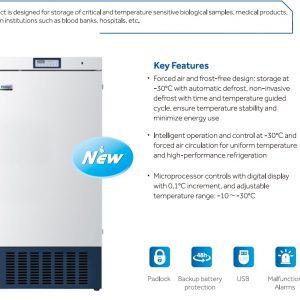 DW-30L420F Tủ đông y sinh âm -10oC đến -30oC