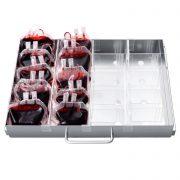 HXC-358B tủ lạnh ngân hàng máu theo chuẩn AABB DIN CE, máu bella swan hừng đông