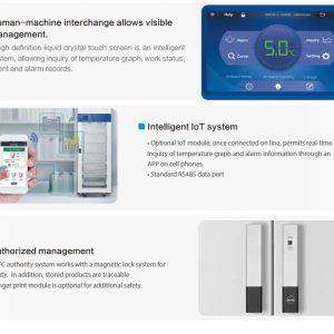 HYC-1099 Tủ bảo quản lạnh y tế 2-8oC