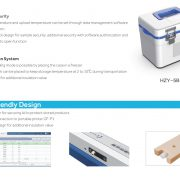 Tủ lạnh y tế sách tay HZY-8Z