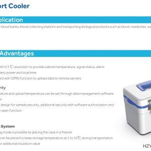 HZY-5B Hộp vận chuyển lạnh làm mát thụ động