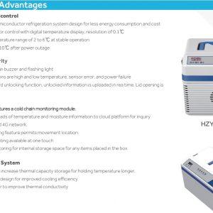 HYZ-8Z Hộp làm lạnh nhiệt độ không đổi Haier Biomedical