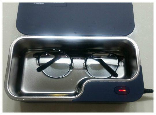 Máy rửa siêu âm làm sạch kính mắt GT-X1 450ml