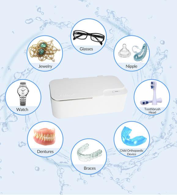 Máy rửa siêu âm làm sạch kính mắt chuyên nghiệp GT-X1 450ml Gtsonic