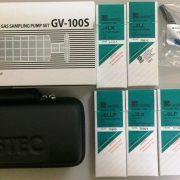ống phát hiện khí nhanh gastec bơm lấy mẫu khí GV-100S và phụ kiện