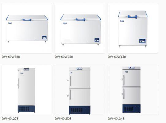 tủ lạnh âm sâu bảo quản hải sản