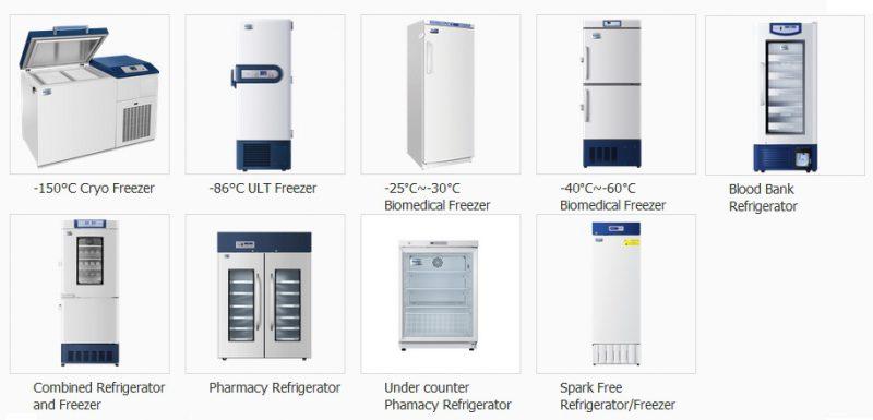 Tủ lạnh y tế haier